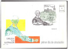 Espana / Spain 1988 FDC Carlos III S/S - 1981-90 Cartas