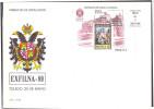 Espana / Spain 1989 FDC Stamp Exhibition Exfilna 89 Painting S/S - 1931-Hoy: 2ª República - ... Juan Carlos I