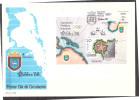 Espana / Spain 1988 FDC Stamp Exhibition Exfilna 88 S/S - 1981-90 Cartas
