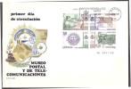 Espana / Spain 1981 FDC Museum Post And Telecom S/S - 1981-90 Cartas