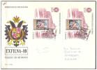 Espana / Spain 1989 FDC Stamp Exhibition Exfilna 89 S/S - 1981-90 Cartas