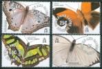 1991 Turks E Caicos Farfalle Butterflies Papillons Set MNH** B600 - Turks & Caicos (I. Turques Et Caïques)