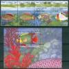 Gambia Pesci Fishes Poissons Set + Block MNH** B600 - Tuvalu