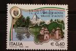 ITALIA USATI 2008 - REGIONI D´ITALIA VALLE D´AOSTA - RIF. G 1440 - QUALITA´ LUSSO - 6. 1946-.. Repubblica