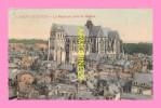 CPA  SAINT QUENTIN  La Basilique Prise Du Beffroi - St. Quentin En Yvelines