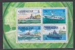 Gibraltar 1993 Battle Ships M/s ** Mnh (26171K) - Gibilterra