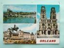 V08-45-loiret-orleans-le Pont GeorgeV-et La Cathedralesainte Croix--statue Jeanne D'arc--multivues - Orleans