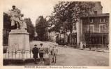 CPA  -   BRIOUDE    -   Monument Aux Morts Et Boulevard Desaix - Brioude