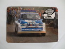 Rally Of Portugal Vinho Do Porto MG Metro 6R4 Tony Pond Rob Arthur Portuguese Pocket Calendar 1986 - Klein Formaat: 1981-90