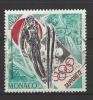 MONACO - Mi-Nr. 1037 Olympische Winterspiele, Sapporo Skispringen, Emblem Gestempelt - Monaco