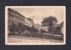 Pologne - Bytom Beuthen - Platz Am Bahnhof ( Animée Ed. Bruno Scholz Feldpost Guerre 1914-1918 ) - Polen