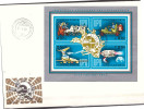 Hungary 1974 FDC UPU Airplane Space Horse Car S/S - FDC