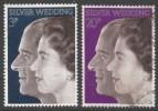 Great Britain. 1972 Royal Silver Wedding.  Used Complete Set. - 1952-.... (Elizabeth II)