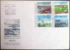 FDC PORTUGAL - NATURAL RESOURCES - WATER River, Birds, Fish, Sheep - Porto, 1976 - FDC