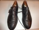 Chaussures Cuir -ancienne --semelle Cuir-pointure  7 1/2  Pour Folkore Ou Theatre--mannequin- - Habits & Linge D'époque