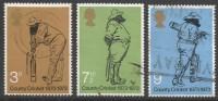 Great Britain. 1973 County Cricket. Used Complete Set. SG 928-930 - 1952-.... (Elizabeth II)