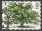 Great Britain. 1973 Tree Planting Year. British Trees (1st Issue). 9p Used. SG 922 - 1952-.... (Elizabeth II)