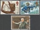 Great Britain. 1972 General Anniversaries. Used Complete Set. SG 901-903 - 1952-.... (Elizabeth II)