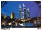 The Petronas Twin Towers, Kuala Lumpur, Malaysia - Yacine 43574 Unused, 17 X 12 Cm - Malaysia