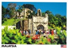 Historical Porta De Santiago, Foot Of St. Paul's Hill, Melaka, Malaysia - Yacine 35479 Unused, 17 X 12 Cm - Malaysia