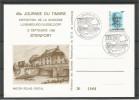 CARTE COMMEMORATIVE 45e JOURNEE DU TIMBRE STEINFORT  TP N° 1157 (CACHET POSTAL DE STEINFORT)(SCAN VERSO) - Cartes Commémoratives