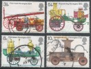 Great Britain. 1974 Bicentenary Of The Fire Prevention (Metropolis) Act. Fire Engines. Used Complete Set. SG 950-953 - Used Stamps