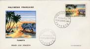 1964 - Tuamotu - Papeete -  Paysages