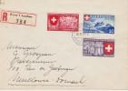 SUISSE   1939 LR DE BERNE POUR MULHOUSE - Schweiz