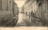 49 - SAUMUR - Inondations 1904 - Imprimerie - Saumur