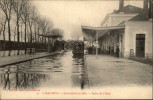 49 - SAUMUR - Inondations 1904 - Gare - Train - Saumur