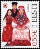 ESTONIA Estland 2015 Stamp Folk Costumes – Lihula MNH - Estonia