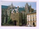 7664   CPM    NANTES  PORTE SAINT PIERRE  , Superbe Carte Photo Moderne !! ( La Cartographie Au Rayon Laser ) - Nantes