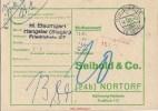 1961 22c Hangelar über Siegburg 5201 - 5200 Honigpost Nachgebühr Rhein-Sieg Siegkreis Rheinland Landpost - Covers & Documents