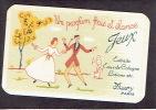 Carte Parfum  - JEUX De MURY - PARIS  -  Un Parfum Frais Et élancé - Variante (arbre Jaune) - Antiquariat (bis 1960)