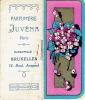 Petit Calendrier De 1927 Offert Par La Parfumerie JUVENA à Paris - Bruxelles - Parfums Suprême Origan, Pluie De Fleurs - Calendriers
