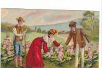 25342 Série Enfant Enfants Choux  Couple  -ed J.C. Paris ! Etat ! -  Femme Rouge - Enfants
