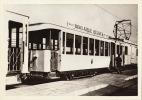 Photo Tram Tramway Belge  Format CP - Fotos