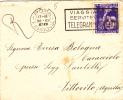 REGNO.MOSTRA DELLE COLONIE ESTIVE.INFANZIA.BUSTA.STORIA POSTALE.ETICHETTA.ROMA.AQUILA.VITTORITO.2016 - 1900-44 Victor Emmanuel III
