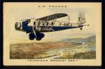 CPA AVIATION -  AIR FRANCE -  Trimoteur BREGUET 393 T - Ligne Toulouse - Casablanca - 1939-1945: 2ème Guerre