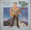 * LP *  JONATHAN RICHMAN AND THE MODERN LOVERS - BACK IN YOUR LIFE - Rock