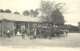 - Ref K 463 - Somme - Saint Valey Sur Somme - St Valey Sur Somme - La Gare -  Attelages - Wagon - Carte Bon Etat - - Saint Valery Sur Somme