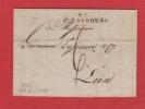 Lettre   //  De Strasbourg  //  Pour Lyon  //  30 Août 1802 - Marcophilie (Lettres)