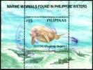 Marine Mammal, Dugong, Philippines Scuvenir Sheet SC#2543 Used - Philippines
