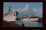 DIEPPE - FORT RICHELIEU, Bananiers Dans Le Port - Dieppe