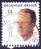 Belgien Belgium Belgique - Boudewijn 1990 (OBP 2382) - Gest. Used Obl. - 1990-1993 Olyff