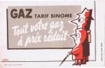 GAZ  Tarif Binome - Buvards, Protège-cahiers Illustrés