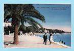 JUAN LES PINS -- TBE -- Le Boulevard De La Plage - Antibes