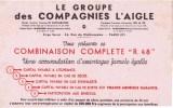 Le Groupe Des Compagnies L Aigle - Vloeipapier