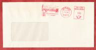 Brief, Absenderfreistempel, Wappen, Buergermeisteramt Aitrach, 100 Pfg, 1989 (81573) - [7] République Fédérale