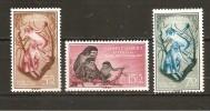 Guinea Española - Edifil 350-52 - Yvert 371-73 (MNH/**) - Guinea Española